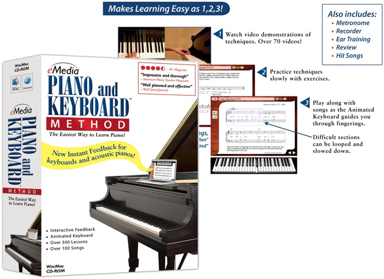 eMedia Piano and Keyboard Method image 1