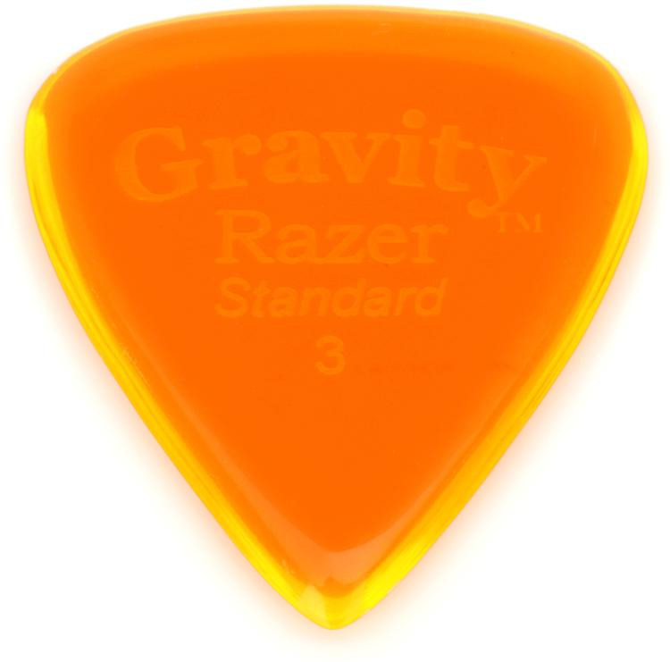 Gravity Picks Razer - Standard Size, 3mm, Polished image 1