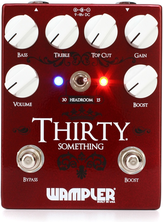 Wampler 30 Something Overdrive Pedal image 1