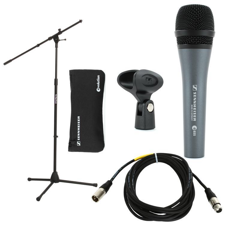 Sennheiser e835 Live Vocal Package image 1