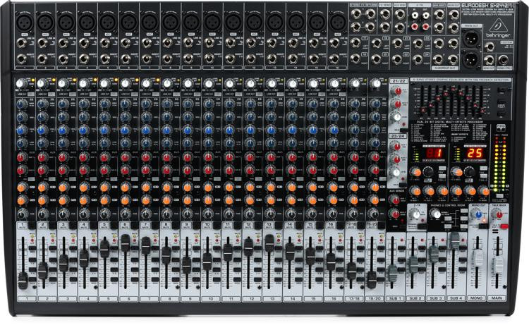 Behringer Eurodesk SX2442FX Mixer with Effects image 1