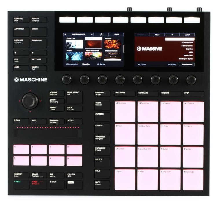 Maschine MK3 Production and Performance System with Komplete 12 Select