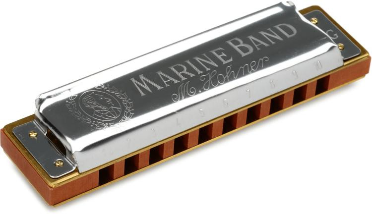 Hohner Marine Band - Key of G image 1