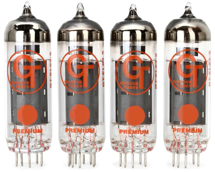 Groove Tubes GT-EL84S Select Power Tubes - Medium Quartet image 1