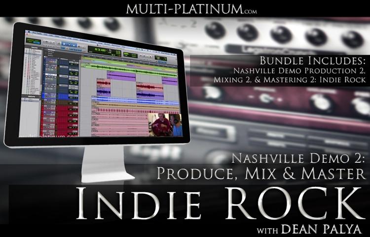 Multi Platinum Nashville Demo Indie Rock Bundle Interactive Course image 1