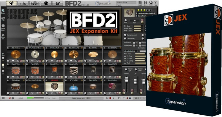 FXpansion BFD JEX Expansion Pack image 1