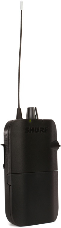 Shure P3R Wireless Bodypack Receiver - G20 Band image 1
