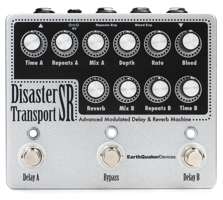 Disaster Transport Pedal : earthquaker devices disaster transport sr advanced modulated delay reverb pedal sweetwater ~ Russianpoet.info Haus und Dekorationen