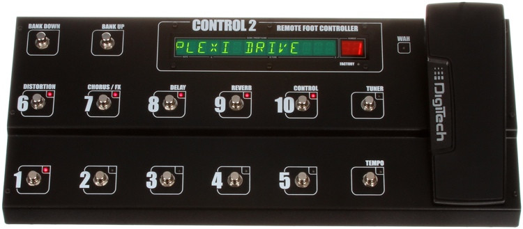 DigiTech Control 2 Remote Foot Controller for GSP1101 image 1