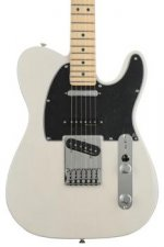 Fender Deluxe Nashville Tele - White Blonde with Maple Fingerboard