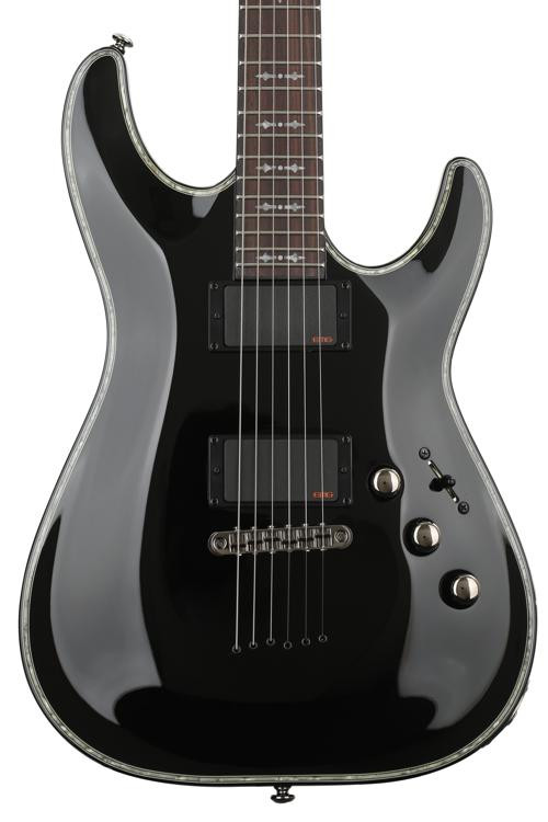 Schecter Hellraiser C-1 - Gloss Black image 1