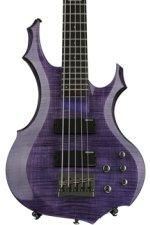 ESP LTD F-155DX - Dark See Thru Purple