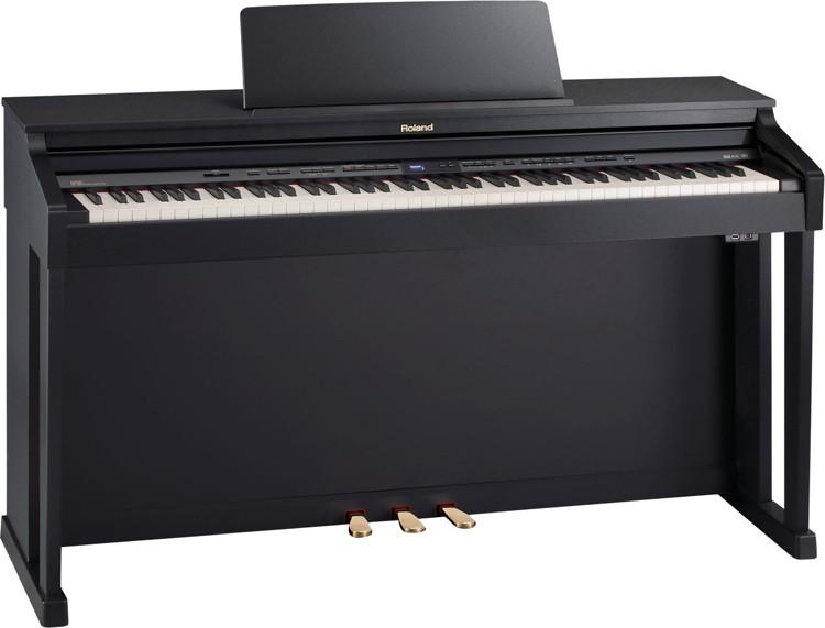 Roland HP-504 Digital Piano - Classic Black Finish image 1