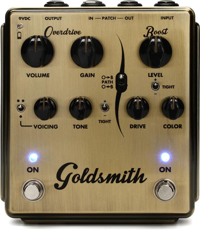 Egnater Goldsmith Overdrive and Boost Pedal image 1