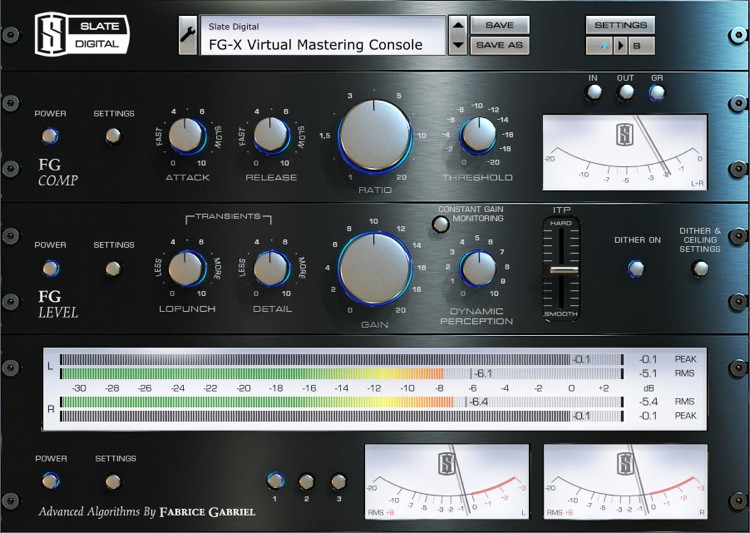 Slate Digital FG-X Dynamics Rack Plug-in (download) image 1
