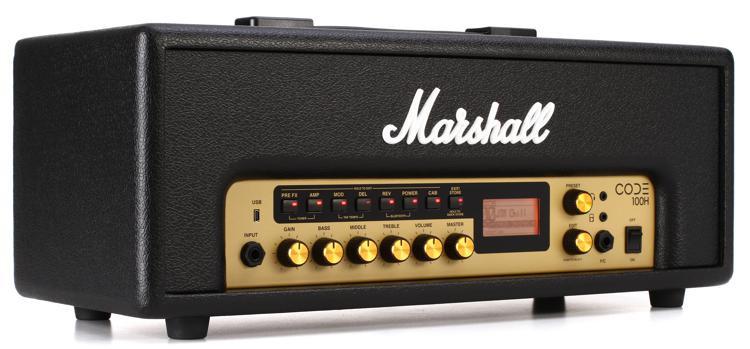 Marshall Code100H 100-watt Digital Head image 1