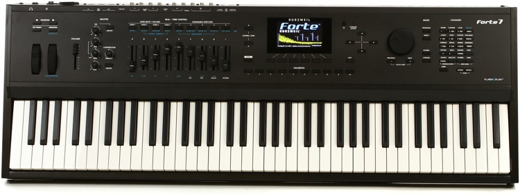 Kurzweil Forte 7 76-key Synthesizer image 1