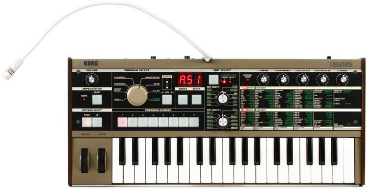 Korg microKORG Synthesizer with Vocoder image 1