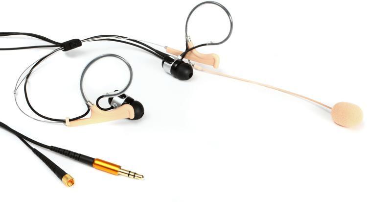 DPA d:fine 88 In-Ear Broadcast Headset Microphone - Dual-Ear, Dual In-Ear, Directional, Beige image 1