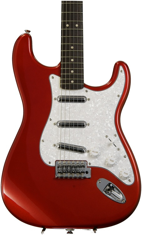 squier vintage modified surf stratocaster candy apple red sweetwater. Black Bedroom Furniture Sets. Home Design Ideas