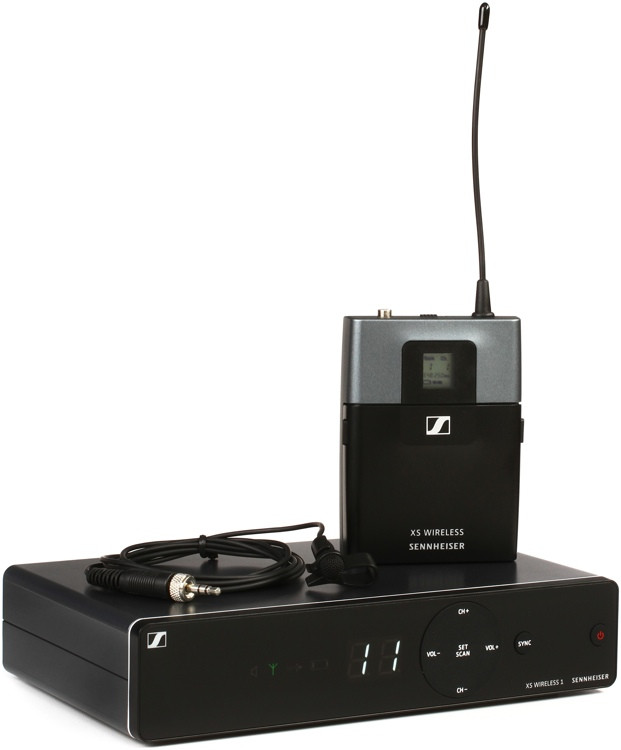 Sennheiser XSW 1-ME2 Wireless Lavalier System - A Range: 548-572 MHz image 1