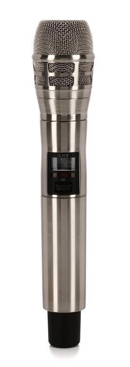 shure ulxd2 k8n wireless handheld microphone transmitter h50 band sweetwater. Black Bedroom Furniture Sets. Home Design Ideas