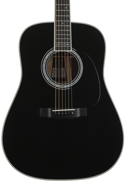 Martin D-35 Johnny Cash - Black image 1