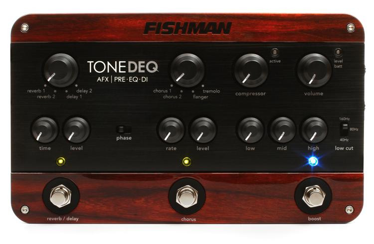 Fishman ToneDEQ Acoustic Instrument Preamp with Effects image 1