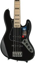 Fender American Elite Jazz Bass V - Black, Maple Fingerboard