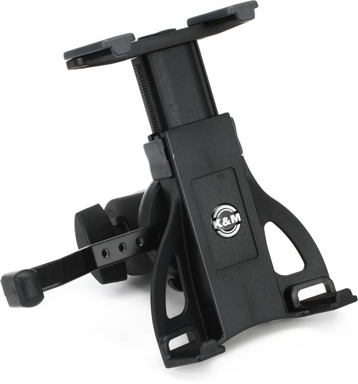 K&M KM19742 Universal Tablet Holder Mic Stand Thread Mount image 1