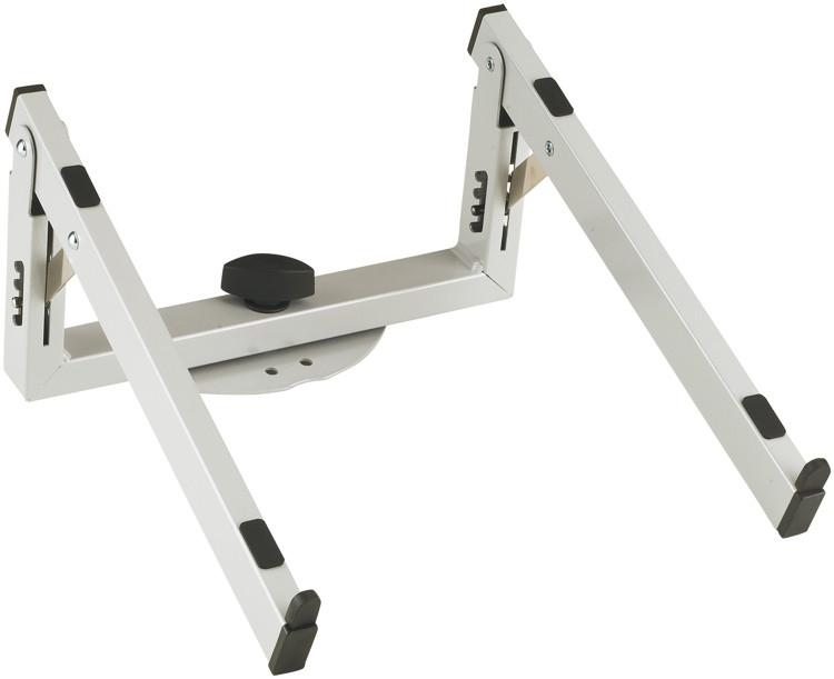 k m laptop rest for spider pro anodized aluminum sweetwater. Black Bedroom Furniture Sets. Home Design Ideas