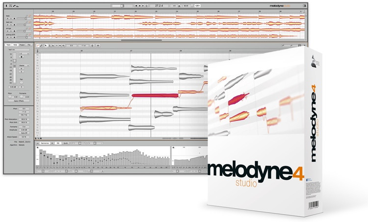 Celemony Melodyne 4 studio - Upgrade from Melodyne essential image 1