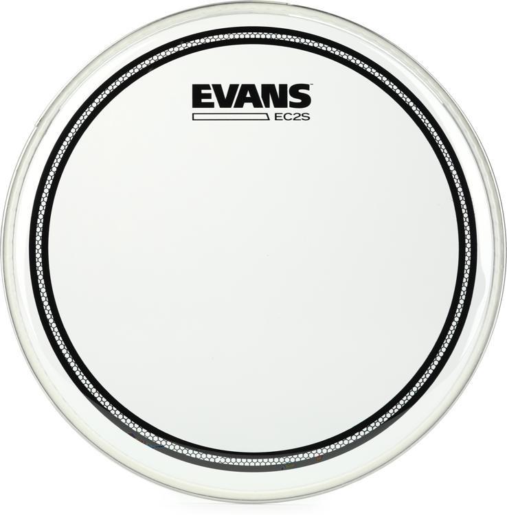 evans ec2 drum head 10 clear sweetwater. Black Bedroom Furniture Sets. Home Design Ideas