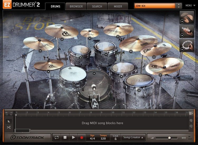 Toontrack Made of Metal EZX (download) image 1