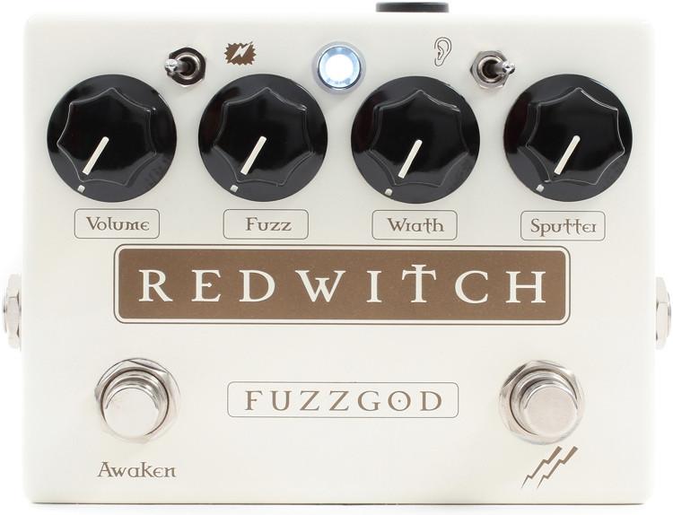Red Witch Fuzz God II Fuzz Pedal image 1