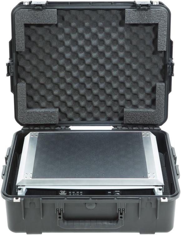 SKB 3i-2217-82U iSeries Fly Rack Case with Removeable 2U Rack Frame image 1