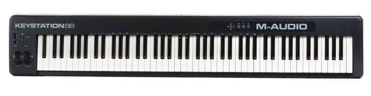 m audio keystation 88 keyboard controller sweetwater. Black Bedroom Furniture Sets. Home Design Ideas