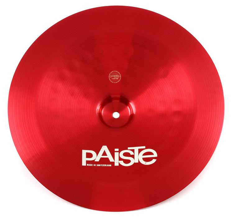 paiste 16 color sound 900 red china cymbal sweetwater. Black Bedroom Furniture Sets. Home Design Ideas