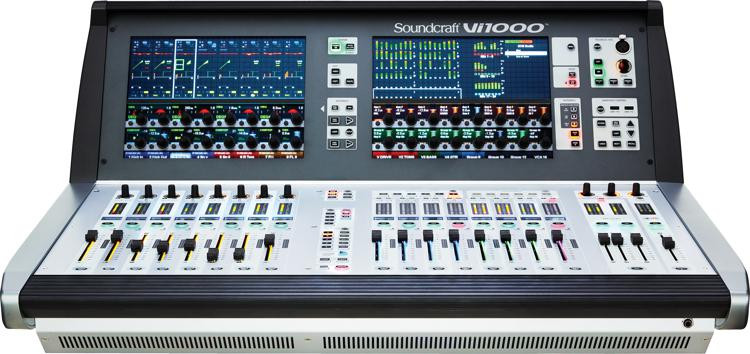 soundcraft vi1000 digital mixer sweetwater. Black Bedroom Furniture Sets. Home Design Ideas