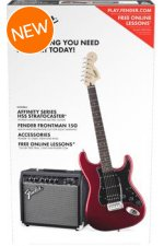 Squier Strat Pack HSS - Candy Apple Red