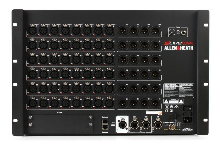 Allen & Heath dLive MixRack CDM48 image 1