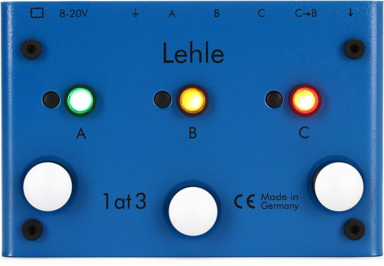 Lehle 1at3 SGoS - 3 Amp Switcher Pedal image 1