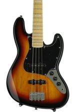 Squier '77 Vintage Modified Jazz Bass - 3 Tone Sunburst