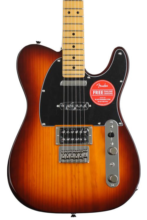 Fender Modern Player Telecaster Plus - Honey Burst with Maple Fingerboard image 1