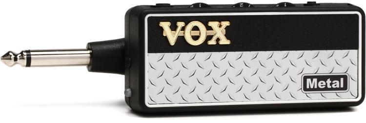vox amplug 2 metal headphone guitar amp sweetwater. Black Bedroom Furniture Sets. Home Design Ideas