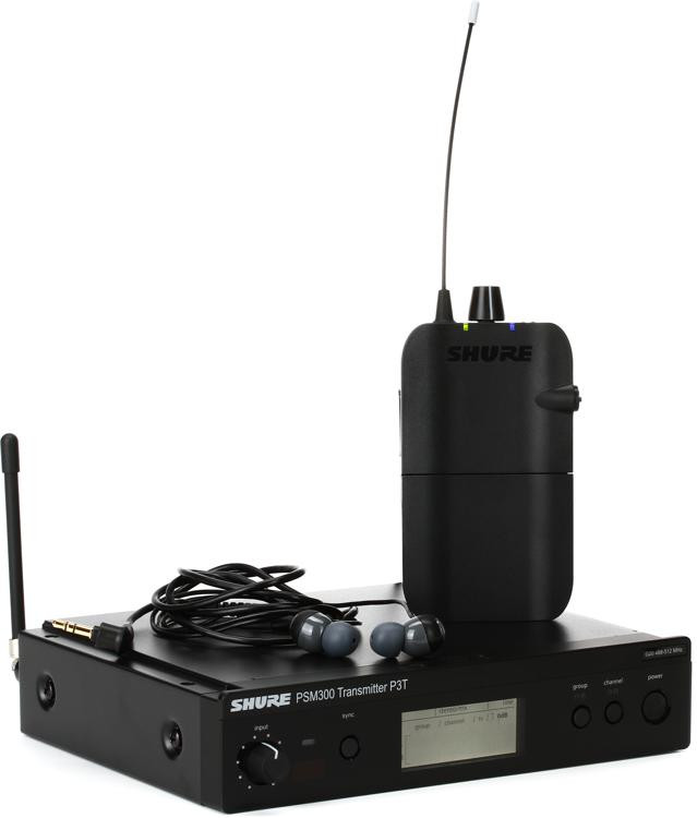 Shure P3TR112GR Wireless In-ear Monitor System - G20 Band image 1