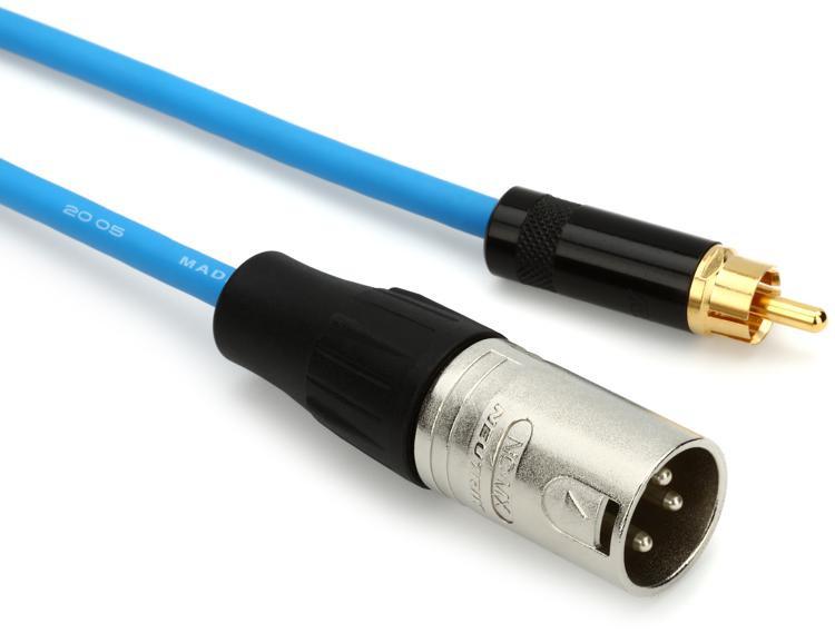 Pro Co 10\' PDRXM-10 Premium Digital Cable - 10\' RCA-XLRM image 1