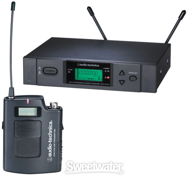 Audio-Technica 3000 Series Wireless ATW-3110b - I-band 482.000 - 507.000 MHz image 1