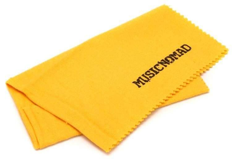 MusicNomad All Purpose Edgeless 100% Pure Flannel Non-Treated Polishing Cloth image 1
