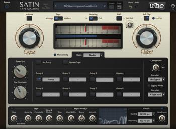 u-he Satin Tape Machine Plug-in image 1